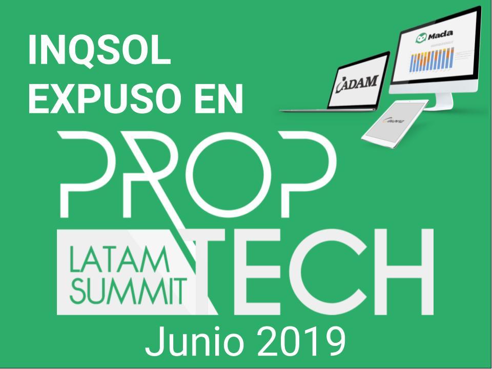 Inqsol en Proptech-latam Summit Chile 2019
